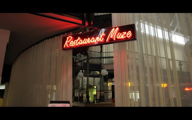 Restaurant Muze, de Oosterpoort Groningen