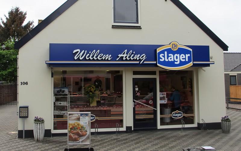 Willem Aling, de slager